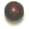 Wooden Bead Round 12mm Dark Brown
